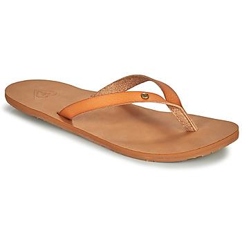 Pantofi Femei  Flip-Flops Roxy JYLL III Camel