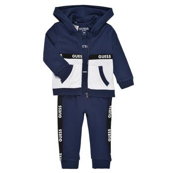 Îmbracaminte Băieți Compleuri copii  Guess P1RG00-KA6W0-DEKB Albastru