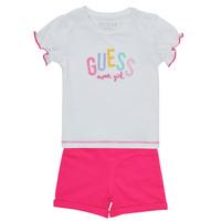 Îmbracaminte Fete Compleuri copii  Guess A1GG07-K6YW1-TWHT Multicolor
