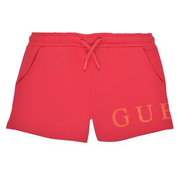 Îmbracaminte Fete Pantaloni scurti și Bermuda Guess K1GD08-KAN00-C448 Roz