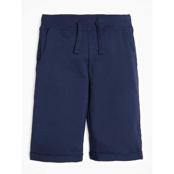 Îmbracaminte Băieți Pantaloni scurti și Bermuda Guess L93Q25-K5WK0-C765 Albastru