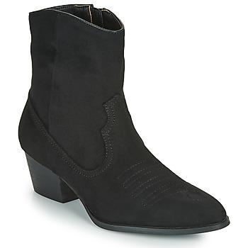 Pantofi Femei Botine Vanessa Wu  Negru