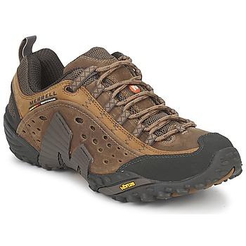Pantofi Bărbați Drumetie și trekking Merrell INTERCEPT Maro