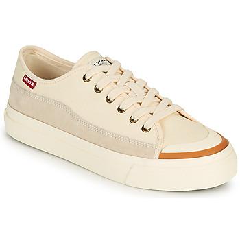 Pantofi Femei Pantofi sport Casual Levi's SQUARE LOW S Alb