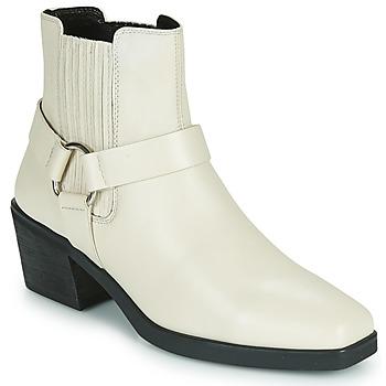 Pantofi Femei Botine Vagabond Shoemakers SIMONE Alb