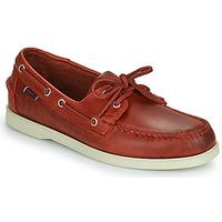 Pantofi Bărbați Pantofi barcă Sebago PORTLAND WAXED Roșu