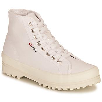 Pantofi Femei Pantofi sport stil gheata Superga 2341 ALPINA COTU Alb