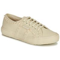 Pantofi Femei Pantofi sport Casual Superga 2750 COTW LACEPIPING Bej
