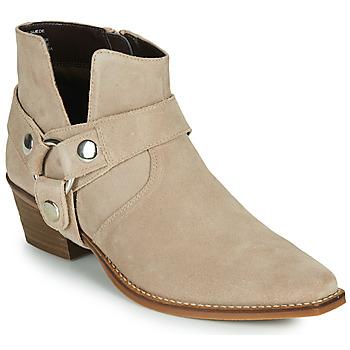 Pantofi Femei Cizme casual Steve Madden GOLDA Bej