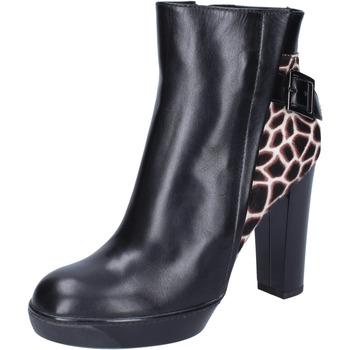 Pantofi Femei Botine Hogan BK643 Negru