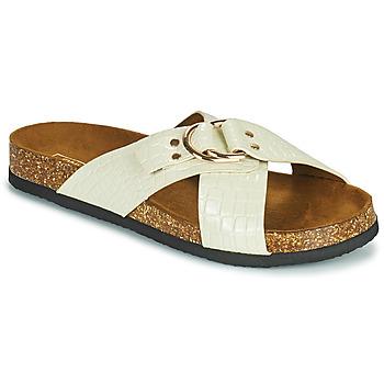 Pantofi Femei Papuci de vară Only MAXI 2 Alb