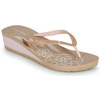 Pantofi Femei  Flip-Flops Isotoner FRADA Bej