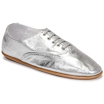 Pantofi Femei Pantofi Derby Pataugas SULLY F2G Argintiu