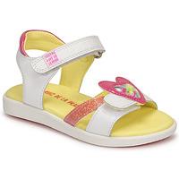Pantofi Fete Sandale  Agatha Ruiz de la Prada AITANA Alb
