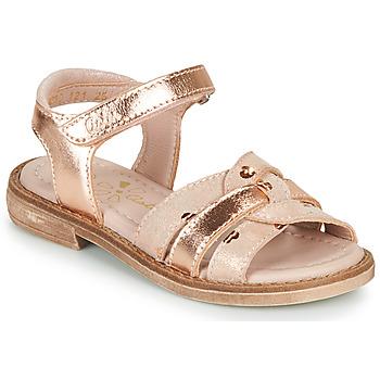 Pantofi Fete Sandale  Aster TAWA Roz