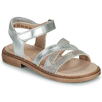 Pantofi Fete Sandale  Aster TESSIA Argintiu