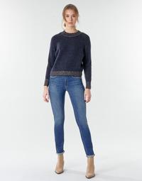 Îmbracaminte Femei Jeans drepti Le Temps des Cerises PULP HIGHREG Albastru / LuminoasĂ