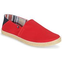Pantofi Bărbați Espadrile Tommy Hilfiger EASY SUMMER SLIP ON Roșu