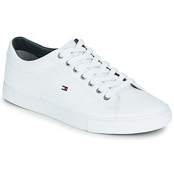 Pantofi Bărbați Pantofi sport Casual Tommy Hilfiger ESSENTIAL LEATHER SNEAKER Alb