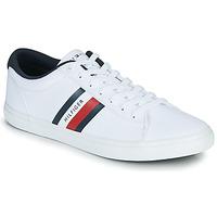 Pantofi Bărbați Pantofi sport Casual Tommy Hilfiger ESSENTIAL STRIPES DETAIL SNEAKER Alb