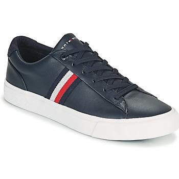 Pantofi Bărbați Pantofi sport Casual Tommy Hilfiger CORPORATE LEATHER SNEAKER Albastru