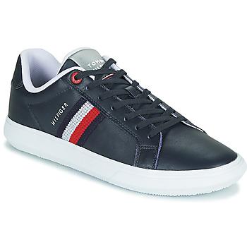 Pantofi Bărbați Pantofi sport Casual Tommy Hilfiger ESSENTIAL LEATHER CUPSOLE Albastru