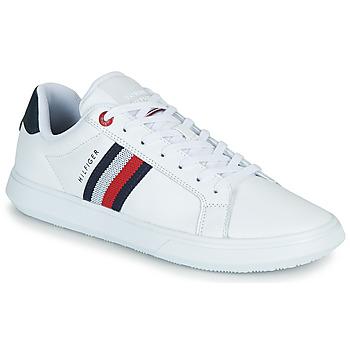 Pantofi Bărbați Pantofi sport Casual Tommy Hilfiger ESSENTIAL LEATHER CUPSOLE Alb
