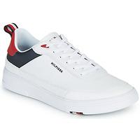 Pantofi Bărbați Pantofi sport Casual Tommy Hilfiger MODERN CUPSOLE LEATHER Alb