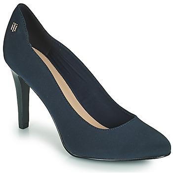 Pantofi Femei Pantofi cu toc Tommy Hilfiger TOMMY ESSENTIAL HIGH HEEL PUMP Albastru