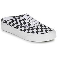 Pantofi Papuci de vară Vans AUTHENTIC MULE Negru / Alb