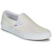 Pantofi Femei Pantofi Slip on Vans CLASSIC SLIP ON Uv / Glitter / Bej / Roz