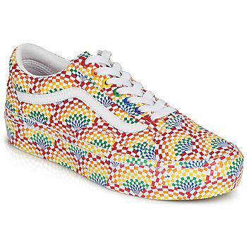 Pantofi Femei Pantofi sport Casual Vans OLD SKOOL PLATFORM Multicolor