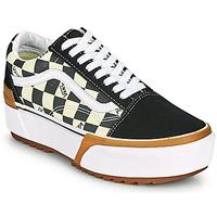 Pantofi Femei Pantofi sport Casual Vans OLD SKOOL STACKED Negru / Alb