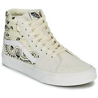 Pantofi Pantofi sport stil gheata Vans SK8 HI Bej / Negru