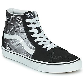 Pantofi Femei Pantofi sport stil gheata Vans SK8 HI Negru / Alb
