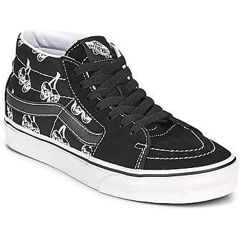 Pantofi Pantofi sport stil gheata Vans SK8 MID Negru / Alb