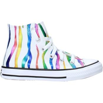 Pantofi Copii Sneakers Converse 667600C Alb
