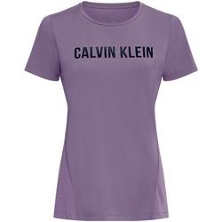 Îmbracaminte Femei Tricouri & Tricouri Polo Calvin Klein Jeans 00GWS0K195 Violet