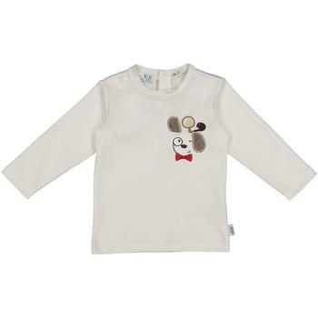 Îmbracaminte Copii Tricouri & Tricouri Polo Melby 20C2150 Alb