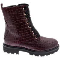 Pantofi Femei Ghete Calzaturificio Loren LOC3918bor rosso