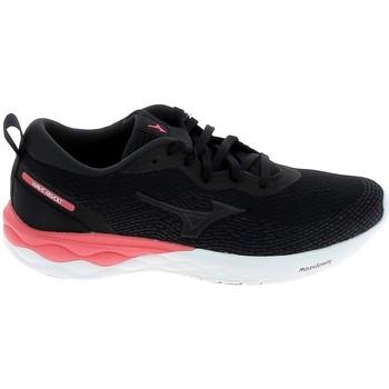 Pantofi Trail și running Mizuno Wave Revolt Noir Negru