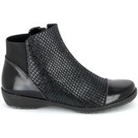 Pantofi Femei Ghete Boissy 8081 Noir Negru