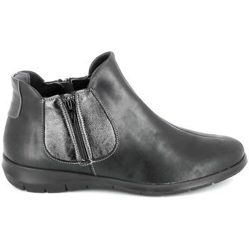 Pantofi Femei Ghete Boissy 66000 Noir Negru