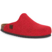 Pantofi Saboti Bioline RIBES MERINOS Rosso