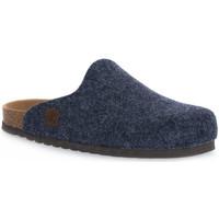 Pantofi Papuci de casă Bioline JEANS MERINOS Blu