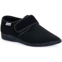 Pantofi Bărbați Papuci de casă Emanuela 985 NERO PANTOFOLA Nero