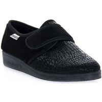 Pantofi Bărbați Papuci de casă Emanuela 608 NERO PANTOFOLA Nero