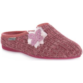 Pantofi Femei Papuci de casă Emanuela 1559 LAIZE Rosa