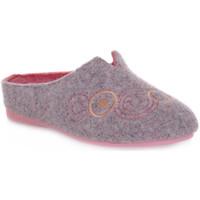 Pantofi Femei Papuci de casă Emanuela 1527 DOUBLE ROSA Rosa