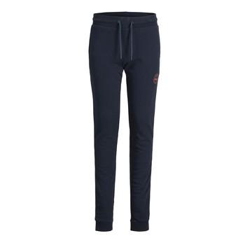 Îmbracaminte Băieți Pantaloni de trening Jack & Jones JJIGORDON JJSHARK SWEAT PANT Albastru